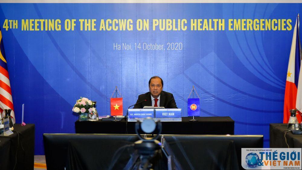 ASEAN nhất trí thành lập Kho dự trữ vật tư y tế