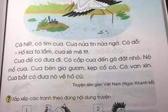 Quyết định điều chỉnh nội dung chưa phù hợp trong SGK môn Tiếng Việt lớp 1