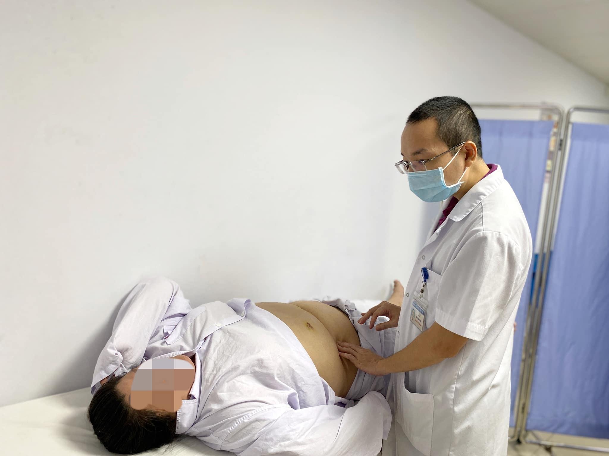 Thu nhỏ dạ dày cho người phụ nữ 95kg có nhiều bệnh lý nền phức tạp