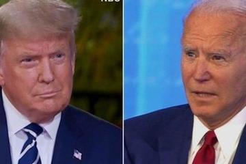 Tổng thống Trump 'toát mồ hôi' trong phiên hỏi - đáp với cử tri