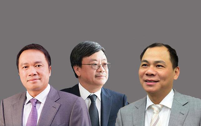 chứng khoán,Phạm Nhật Vượng,Hồ Hùng Anh,Nguyễn Đăng Quang,Nguyễn Thị Phương Thảo,Trần Đình Long,cổ phiếu