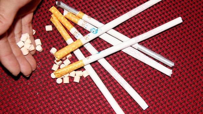 kẹo thuốc lá,ma túy,gây nghiện,hà nội