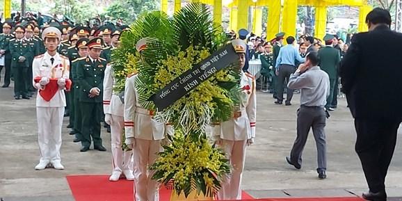 Lễ viếng, truy điệu 13 cán bộ hy sinh khi làm nhiệm vụ tại thủy điện Rào Trăng 3