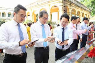 Quận Ba Đình (Hà Nội) đưa Sổ tay du lịch điện tử vào hoạt động