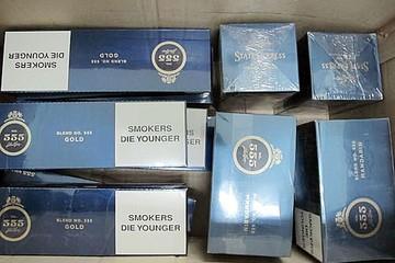 Tây Ninh: Bắt giữ gần 20 vụ với trên 3.000 bao thuốc lá lậu