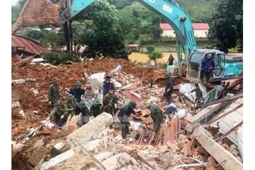 Vụ sạt lở ở Quảng Trị: Đã tìm thấy 14 thi thể, 2 trực thăng sẵn sàng ở Đà Nẵng chờ lệnh
