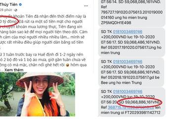 """Hàng trăm tỷ 'đổ' về tài khoản của Thủy Tiên và chuyện """"từ thiện đúng cách"""""""