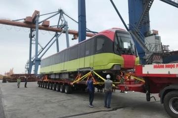 Đoàn tàu đầu tiên của tuyến Nhổn – Ga Hà Nội cập cảng Hải Phòng