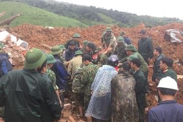 Đã tìm thấy thi thể 22 cán bộ, chiến sĩ gặp nạn sạt lở đất ở Quảng Trị