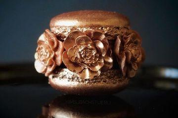 Cận cảnh những chiếc bánh macaron siêu đẹp nhìn không ai nỡ ăn