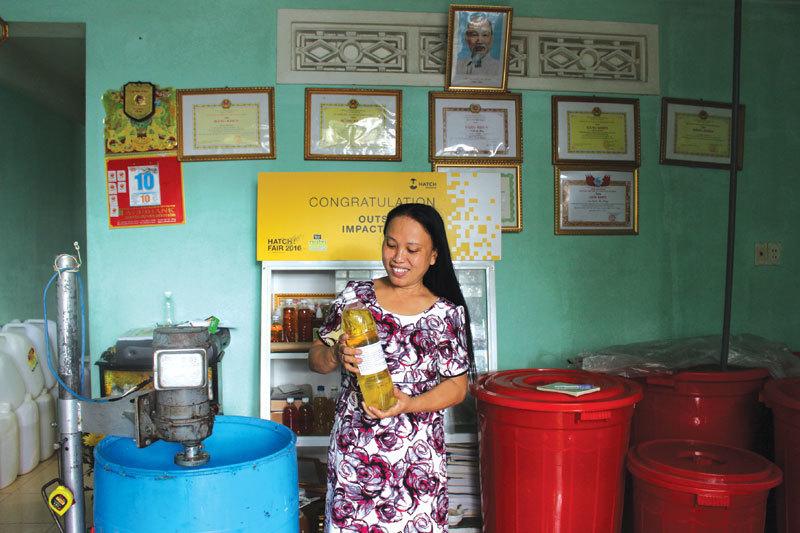 Người biến rác thành tiền Trịnh Thị Hồng