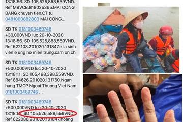 """Ca sĩ Thủy Tiên lo lắng khi """"ôm"""" hơn 100 tỷ cứu trợ miền Trung: Đừng chửi mình tội nghiệp"""