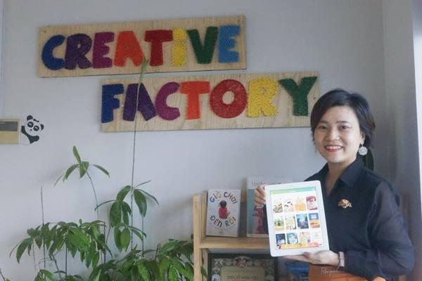 Nữ doanh nhân làm ứng dụng đọc sách 4.0 hay, khơi dậy tình yêu sách cho bé