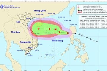 Trung Bộ tiếp tục mưa lớn, bão số 8 hướng đi phức tạp và đang mạnh thêm