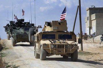 Tình hình Syria: Trực thăng Mỹ mang theo súng máy yểm trợ đoàn xe ở Syria