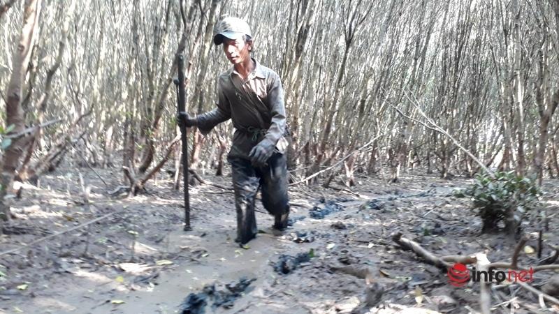 Ngâm mình dưới bùn lầy săn loài cá da trơn giá nửa triệu đồng/1kg