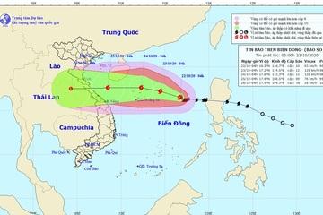Miền Trung ngừng mưa, lũ rút, bão số 8 gió giật cấp 13 và còn mạnh thêm
