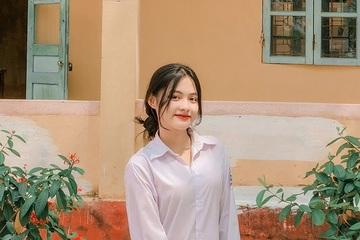 """""""Nữ thần đồng phục"""" mới nổi ở Bắc Giang"""