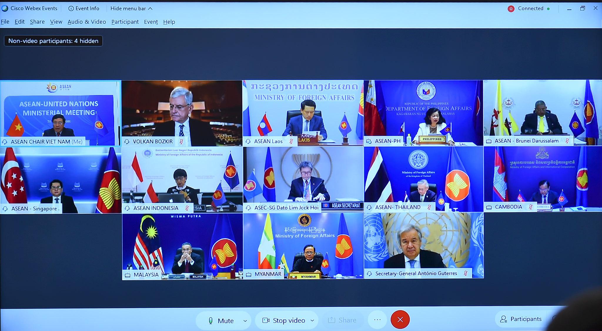 Hội nghị Bộ trưởng Ngoại giao ASEAN – Liên Hợp Quốc
