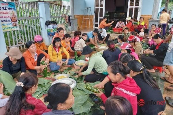 Chuyến hàng đẫm tình người từ xã nghèo Ea Kiết hướng về miền Trung