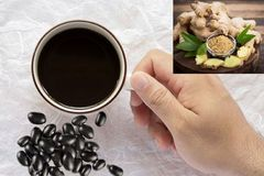 Sự thật uống nước đỗ đen gừng giảm cân hàng triệu chị em mách nhau dùng