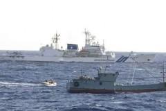 Hàng ngàn tàu cá Trung Quốc đánh bắt trong vùng biển Nhật Bản