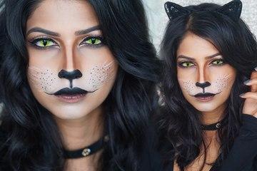 Bộ 3 trang trí - trang phục - trang điểm đậm chất Halloween