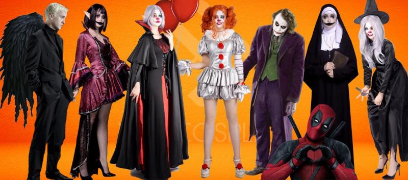 trang phục Halloween 2020