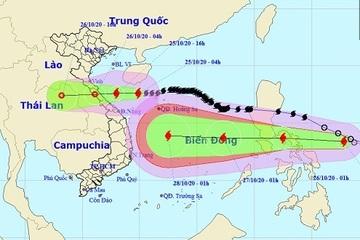 Bão số 8 tiến vào đất liền, Nghệ An – Thừa Thiên Huế mưa lớn