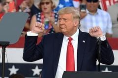 Ông Trump không lo lắng về kết quả cuộc bầu cử sắp tới