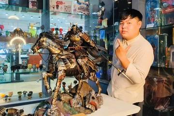 Giới trẻ Sài Gòn chi tiền 'khủng' sưu tập đồ chơi siêu mô hình