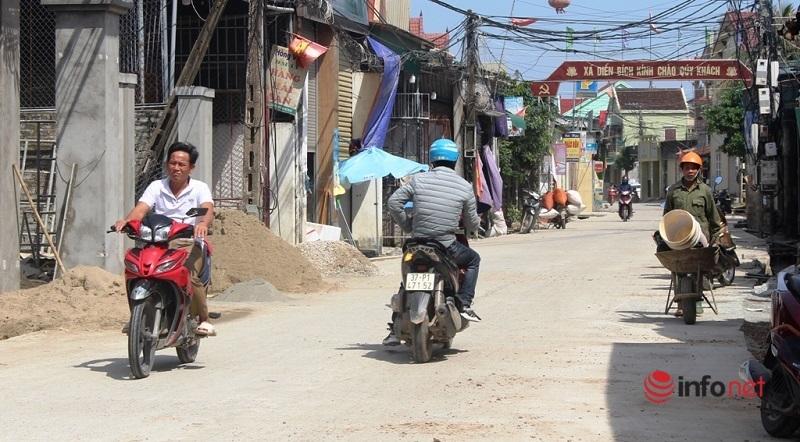 Diễn Châu,Nghệ An,đường hỏng