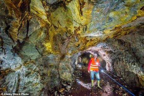 Bên trong mỏ vàng sắp mở cửa ở Scotland