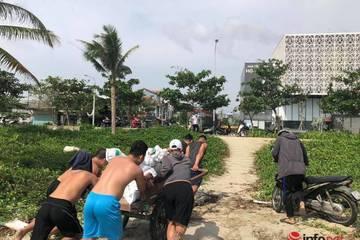 Người dân hối hả gia cố, chằng chống nhà cửa, khách sạn trước giờ bão đổ bộ