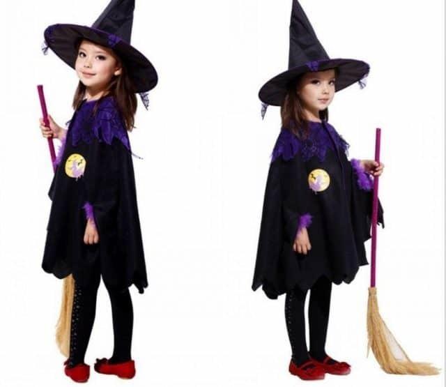 trang điểm Halloween cho bé