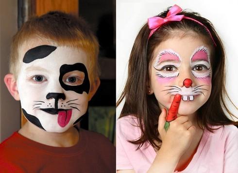 hoá trang Halloween cho bé 8