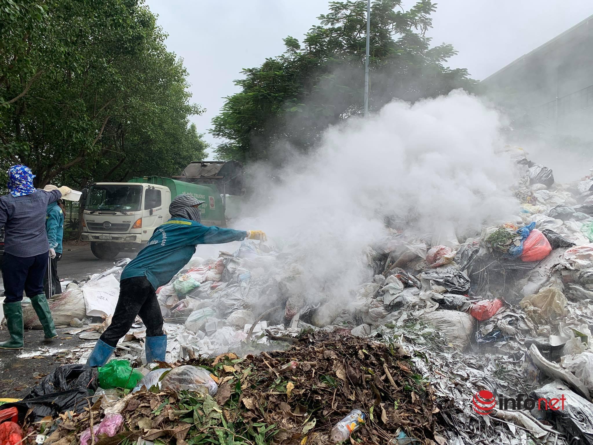 Đề xuất xử lí miễn phí mùi của bãi rác Nam Sơn bằng công nghệ Nhật
