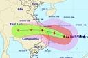 Bão số 9 sắp đổ bộ vào Đà Nẵng – Phú Yên, gió giật mạnh, vùng ảnh hưởng rất rộng