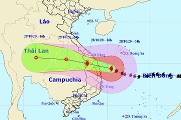 Bão số 9 giật cấp 16 cách bờ biển hơn 100km, bão đi rất nhanh