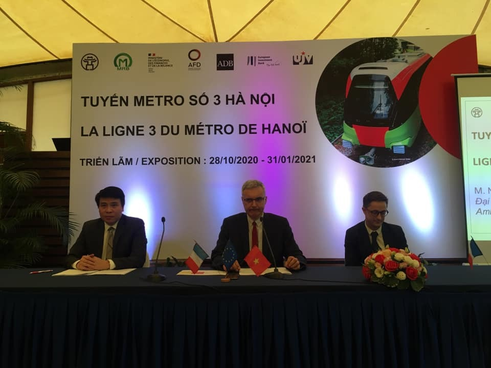Năm 2021, chắc chắn khai thác tuyến đường sắt trên cao Nhổn - Ga Hà Nội