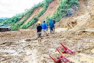 Thêm 1 vụ sạt lở ở Quảng Nam làm 3 người chết, 8 người mất tích