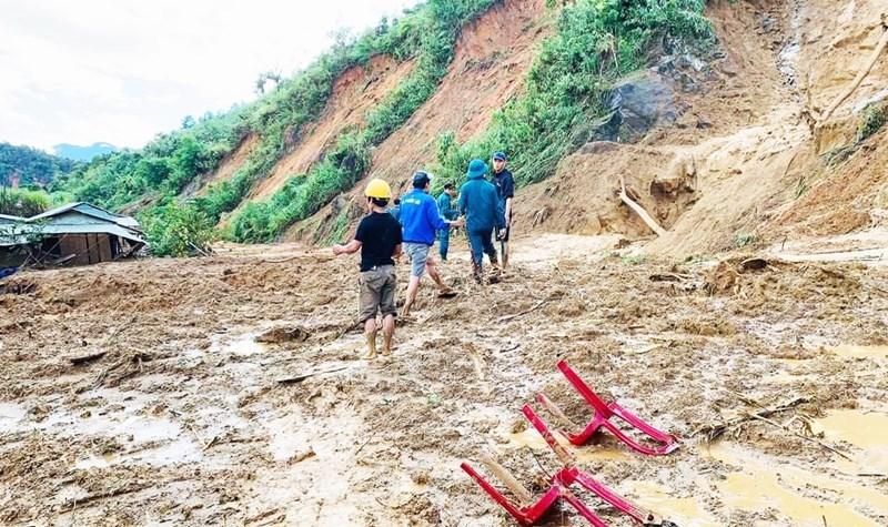 Vụ sạt lở núi làm 11 người mất tích ở Quảng Nam: Tìm thấy thêm 2 thi thể