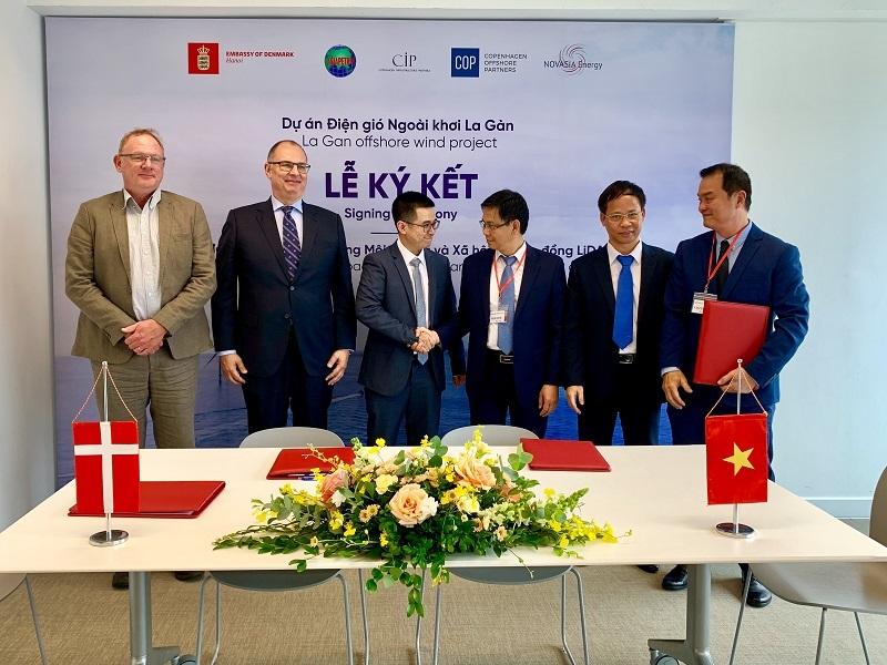 Ký kết các hợp đồng lớn cho dự án điện gió ngoài khơi lớn nhất Việt Nam
