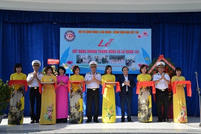 Khánh thành Phòng khám Đa khoa Bệnh xá Lữ đoàn 101