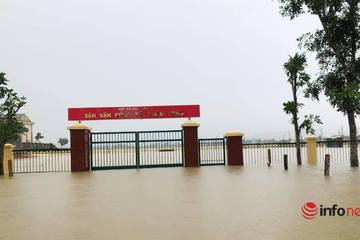 Nghệ An: Hàng nghìn ngôi nhà bị ngập, 4 người mất tích, bị thương do mưa lũ