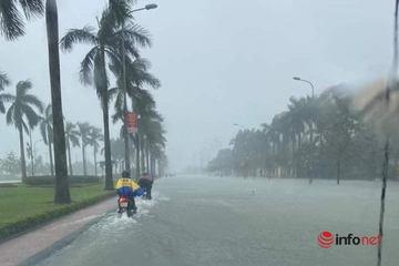 Bão giật cấp 12 khi vào đất liền, mưa lớn ở Quảng Trị - Khánh Hòa