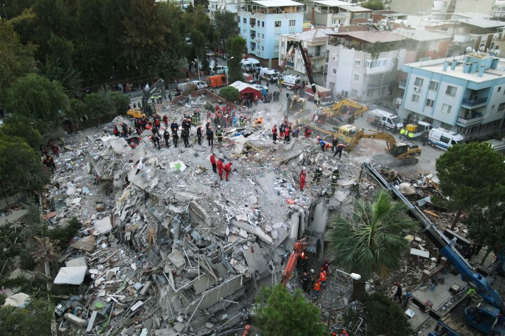 Số người tử vong trong trận động đất ở Thổ Nhĩ Kỳ tăng lên 76