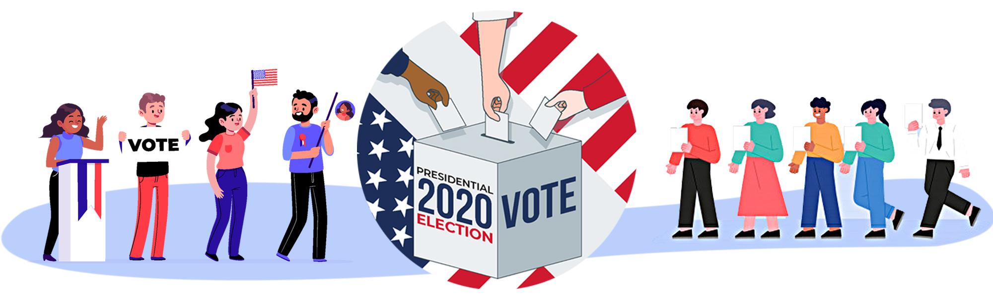 Toàn cảnh quy trình bầu ra Tổng thống Mỹ 2020