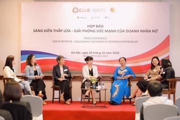 Sáng kiến Thắp lửa hỗ trợ doanh nghiệp do phụ nữ làm chủ kinh doanh bền vững