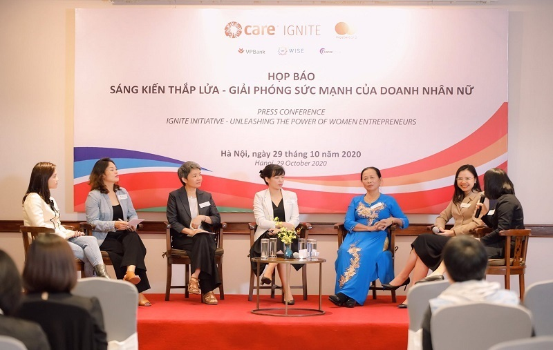 Phát triển bền vững,Doanh nghiệp do phụ nữ làm chủ,Nữ doanh nhân,VPBank,Care,Mastercard,WISE,Canal Circle